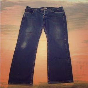 Men's Hudson Jeans sz 34 Byron5pkt straight